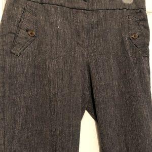 Ladies gray trousers